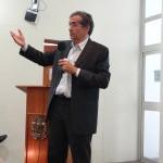 Henilton Menezes, Secretário de Fomento e Incentivo à Cultura do Ministério da Cultura, durante sua palestra no Seminário de Gestão e Planejamento Tributário