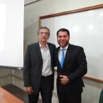 Henilton Menezes, secretário do MinC, e Renato Paixão, diretor da VR Projetos.