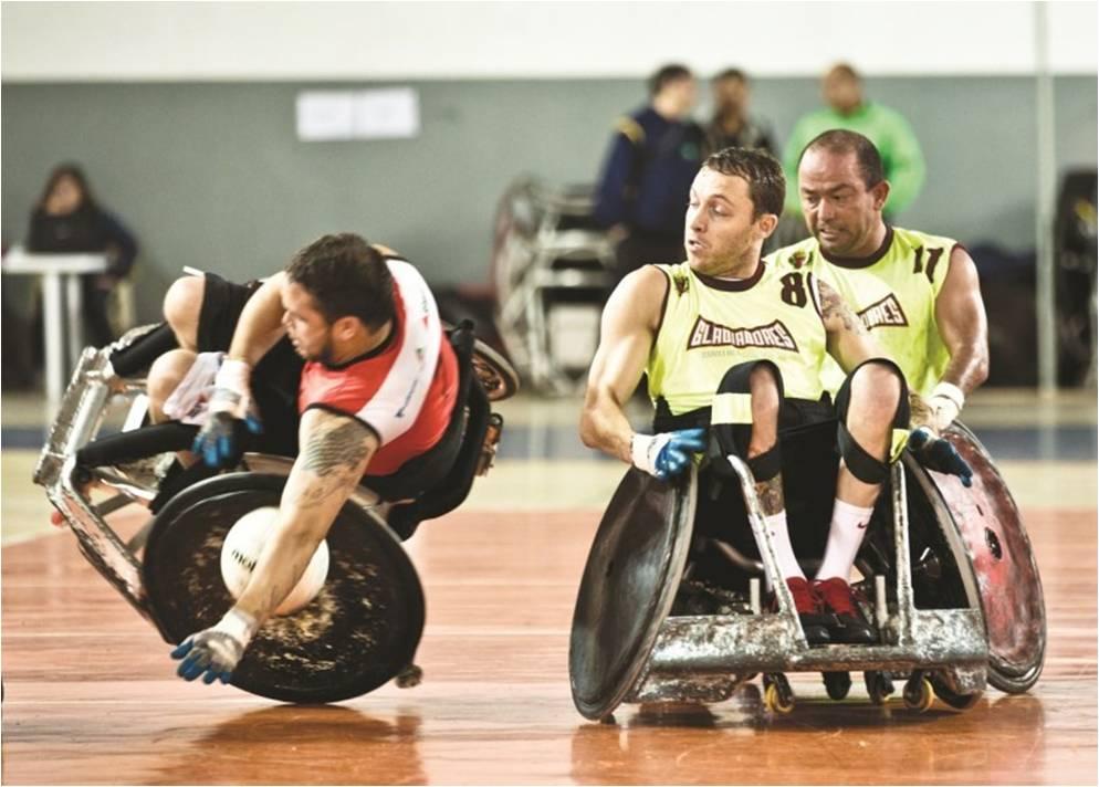 Rugby em cadeira de rodas