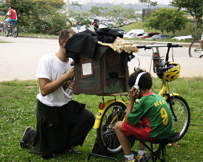 Circuito de artes Ciclistas Bonequeiros
