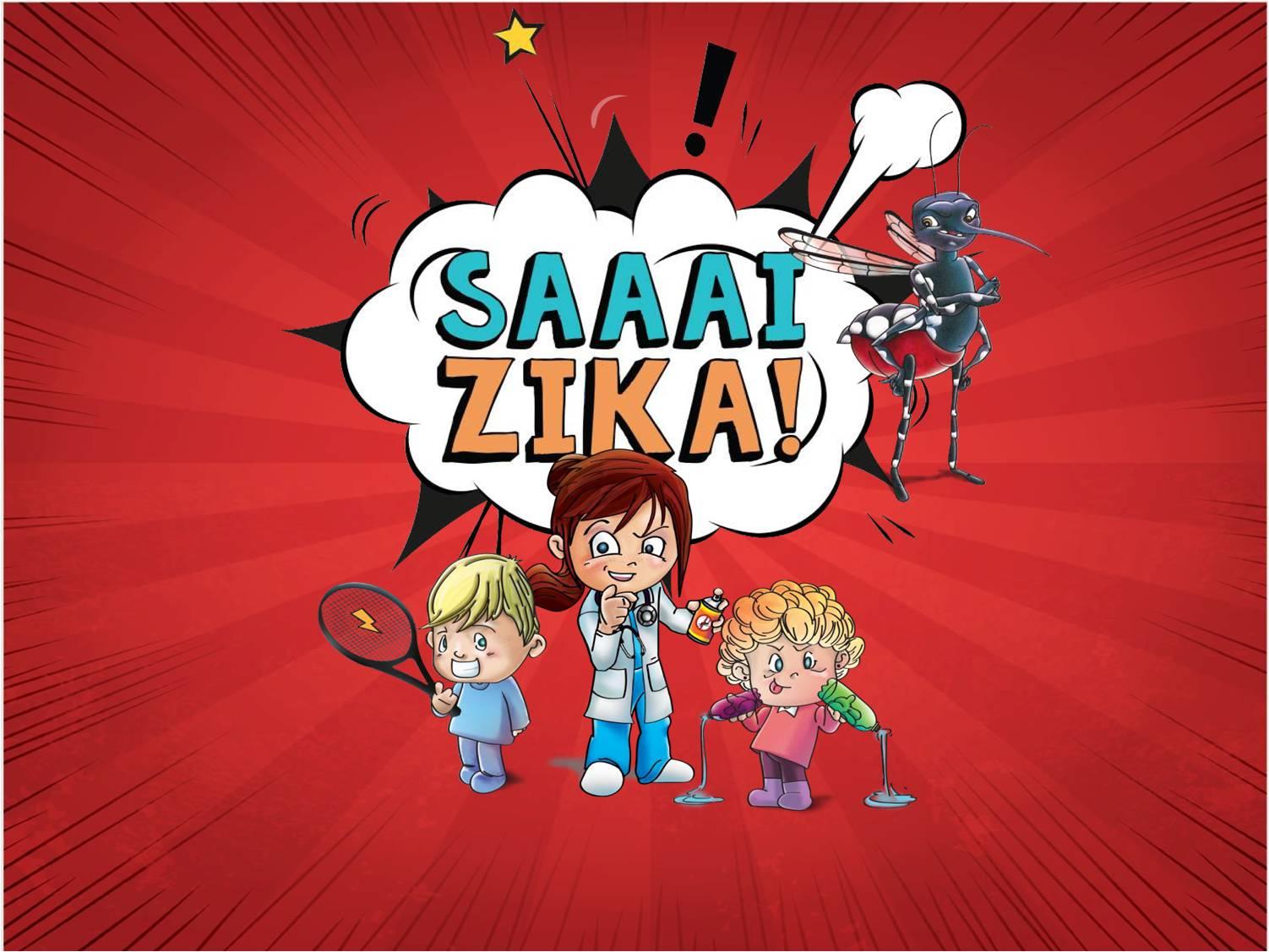 Saí Zika!